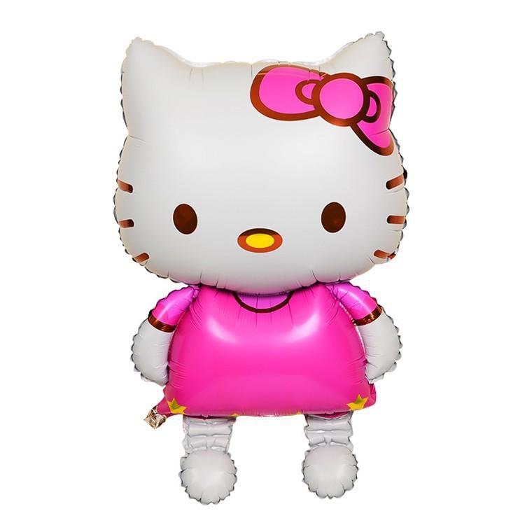Bong bóng kiếng hình Hello Kitty 77cm