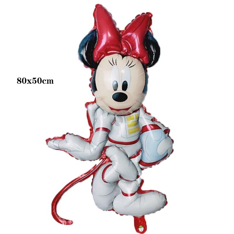 Bong bóng kiếng Minnie phi hành gia 80cm