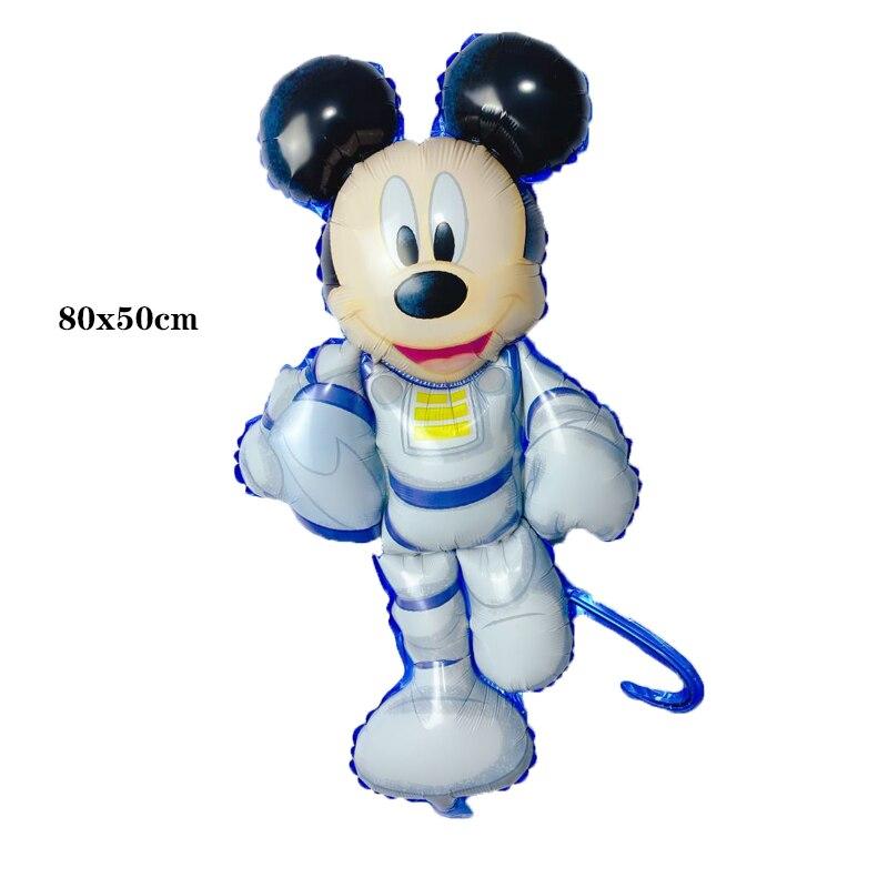 Bong bóng kiếng Mickey phi hành gia 80cm