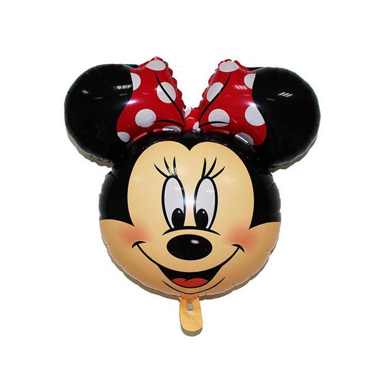 Bong bóng kiếng mini đầu Minnie 40cm