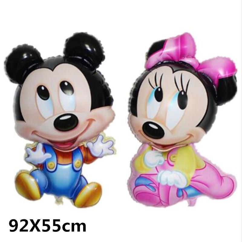 Bong bóng kiếng Mickey/Minnie 92cm