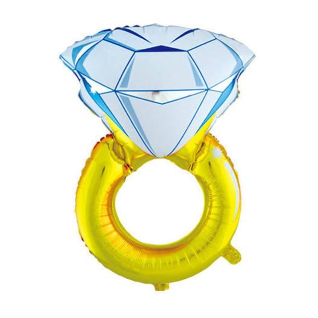 Bong bóng kiếng mini Nhẫn Kim Cương 40cm