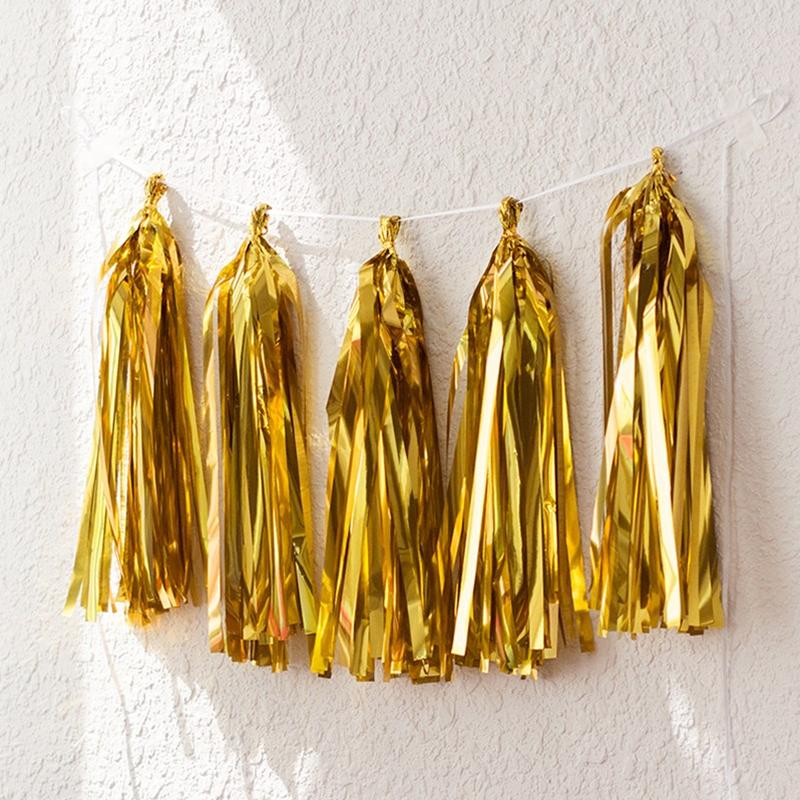 Dây tua rua ép kim (vàng/bạc/rosegold)