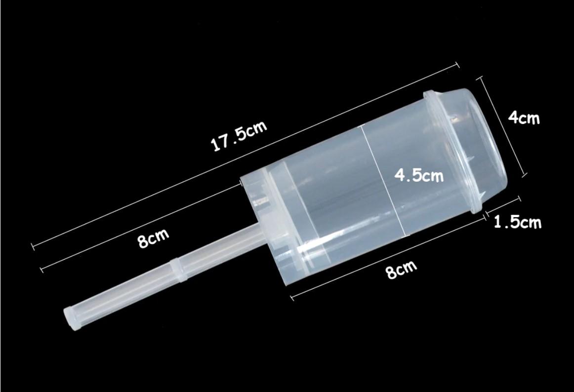 Ống Push-pop nhựa (không confetti)