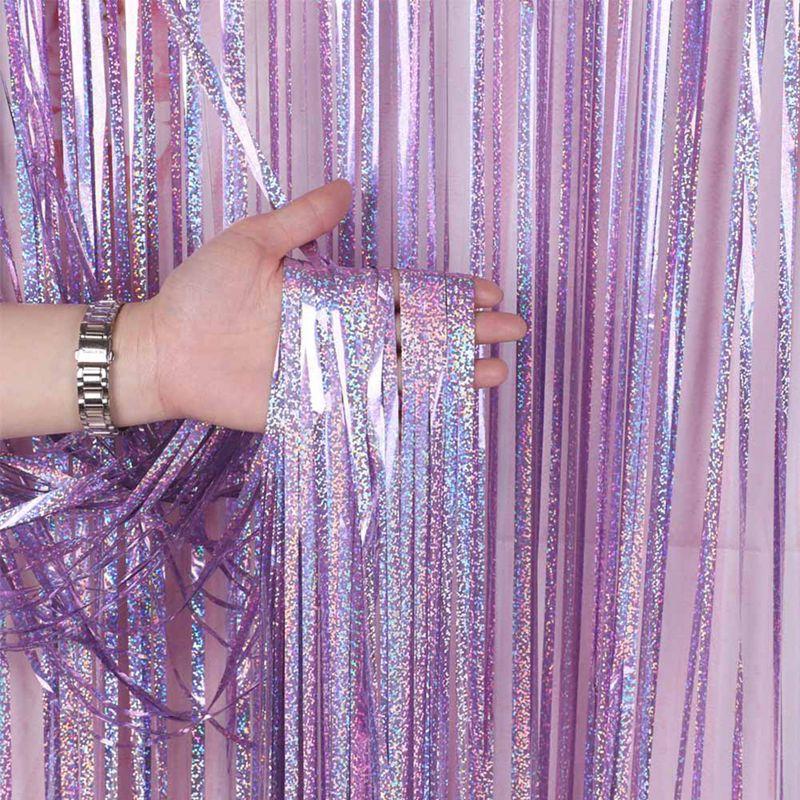 Rèm kim tuyến óng ánh 1mx2m (4 màu)