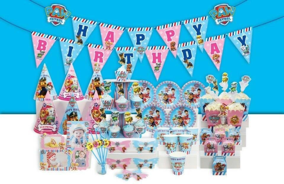 Set trang trí sinh nhật Các chú chó cứu hộ