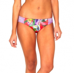 BAKU TROPICAL RUCHED BIKINI HIPSTER