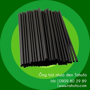 Ống hút nhựa đen TAHUFA