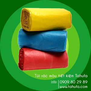 Túi rác màu tiết kiệm TAHUFA