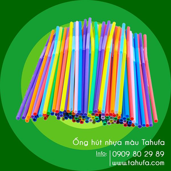 Ống hút nhựa màu TAHUFA
